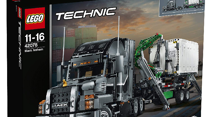 LEGO Technic 42078 Mack Anthem Featured 800 445