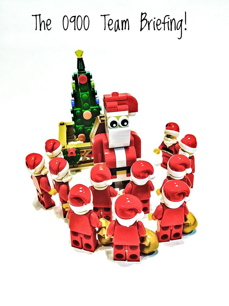 Brick Pic Santa Briefing