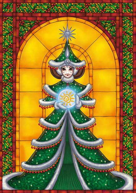 ChristmasPadme 1