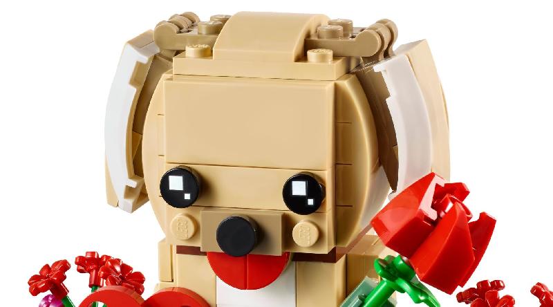 LEGO BrickHeadz 40349 Puppy Featured 800 445 800x444