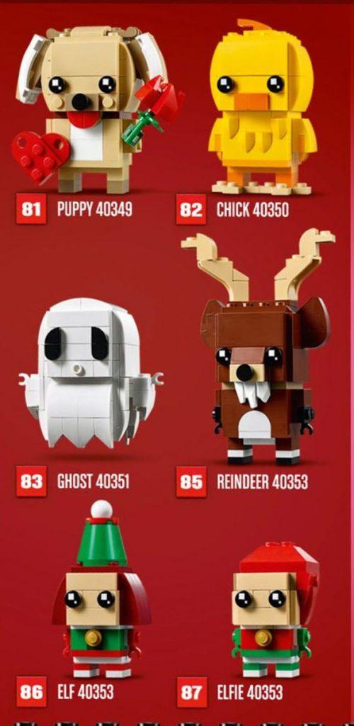 LEGO BrickHeadz Seasonal 2019 500x1024