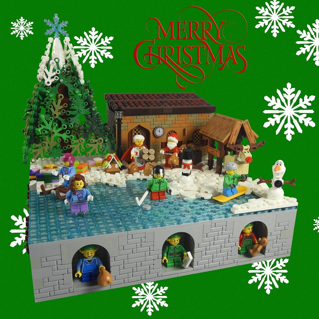 LEGO Christmas Build 2018