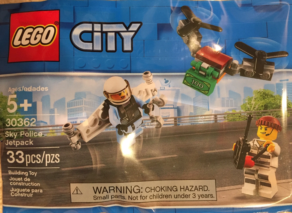 Lego City 30362 Sky Police Jetpack To Be Released