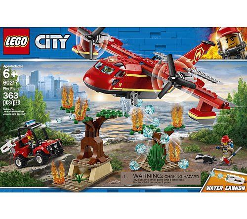 LEGO City 60217 Fire Plane 1 500x445