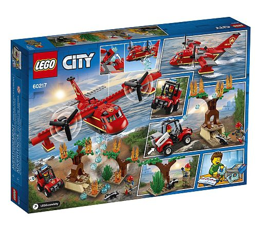 LEGO City 60217 Fire Plane 3 500x445