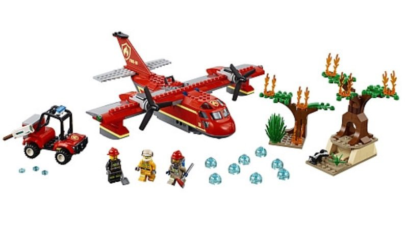 LEGO City 60217 Fire Plane Featured 800 445 800x444