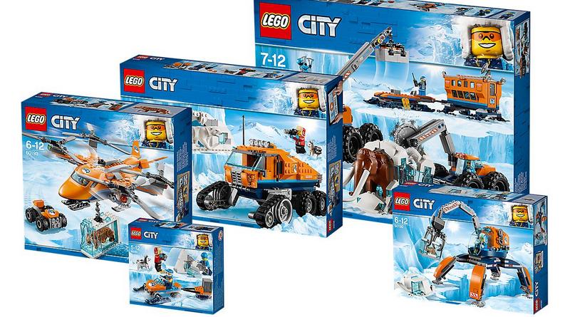 LEGO City Arctic Bundle Featured 800 445