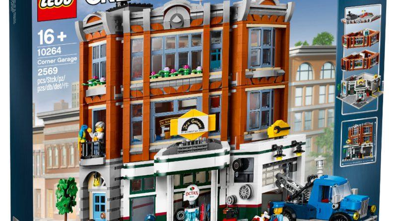 LEGO Creator Expert 10264 Corner Garage 1 800x445