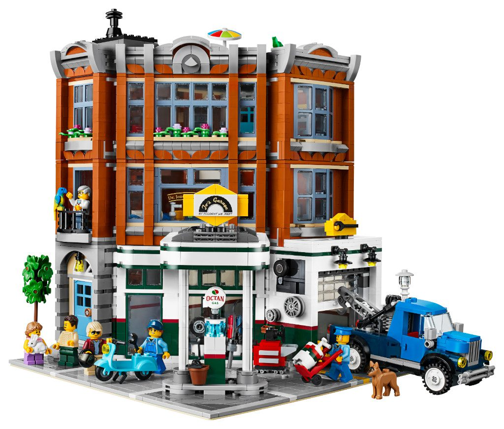 LEGO Creator Expert 10264 Corner Garage 16 1024x871