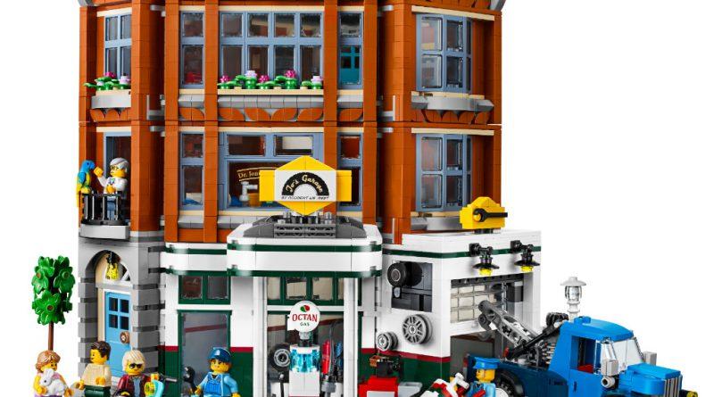 LEGO Creator Expert 10264 Corner Garage 16 800x445