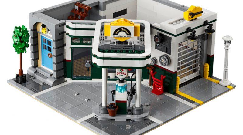 LEGO Creator Expert 10264 Corner Garage 17 800x445