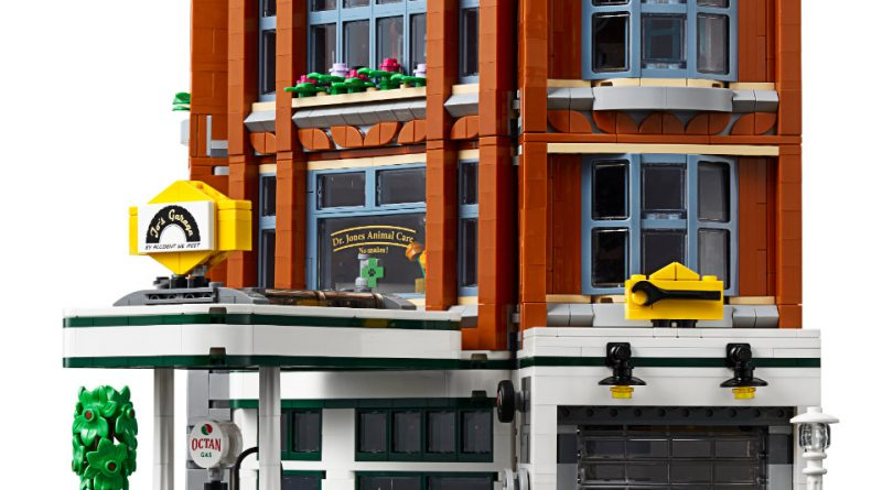 LEGO Creator Expert 10264 Corner Garage 21 800x445