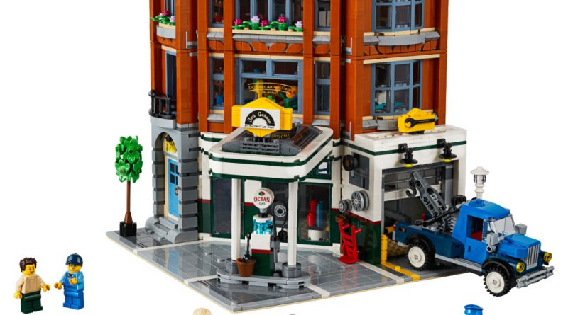 LEGO Creator Expert 10264 Corner Garage 22 800x445
