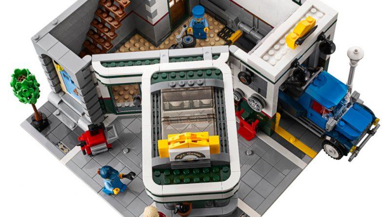 LEGO Creator Expert 10264 Corner Garage 40 800x445