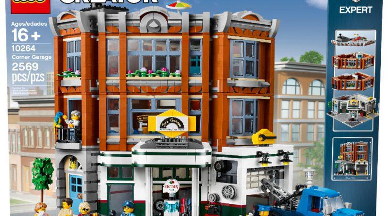 LEGO Creator Expert 10264 Corner Garage 8 800x445