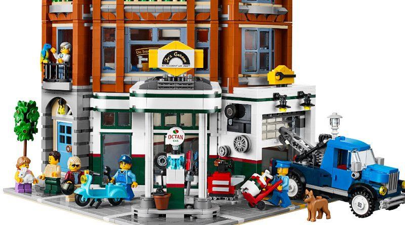 LEGO Creator Expert 10264 Corner Garage Featured 800 445 1 800x444