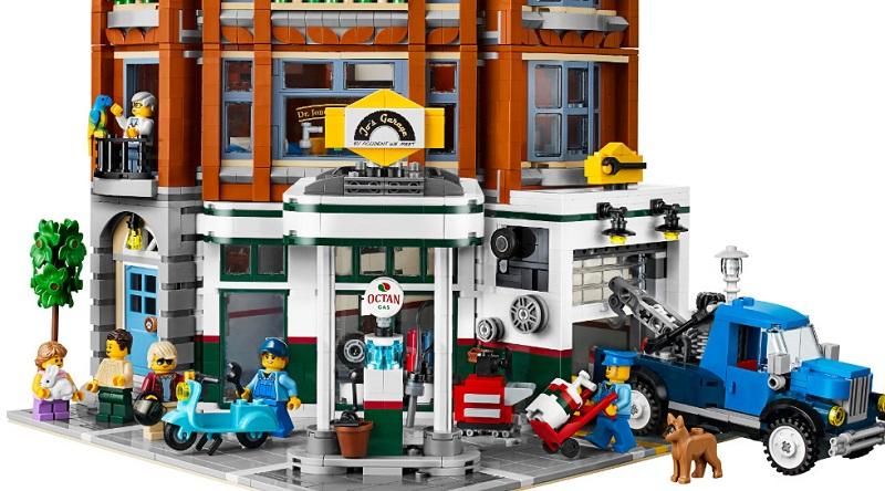 LEGO Creator Expert 10264 Corner Garage Featured 800 445 1