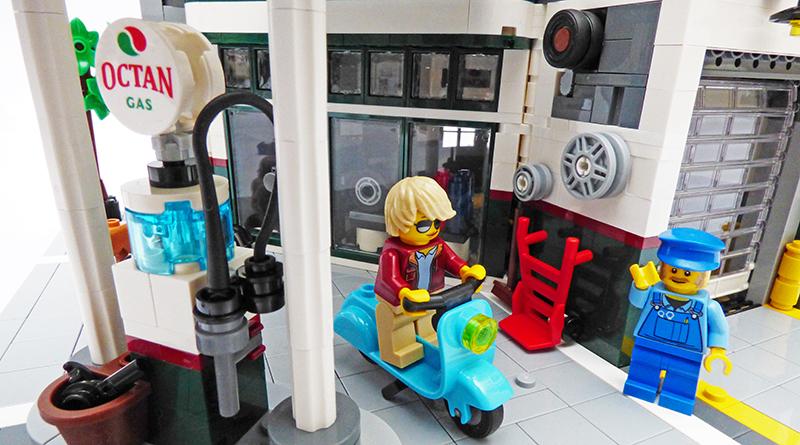 LEGO Creator Expert 10264 Corner Garage featured 800 445
