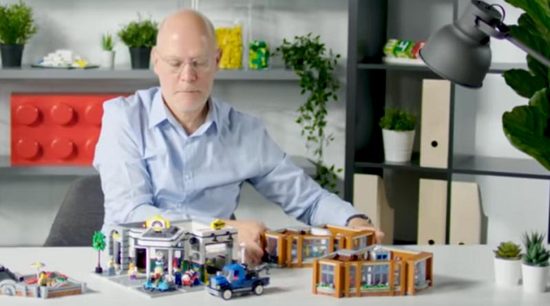 LEGO Creator Expert 10264 Corner Garage Video Featured 800 445 1
