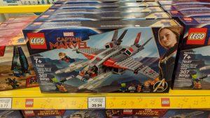 LEGO Marvel 76127 Captain Marvel 76127 Captain Marvel And The Skrull Attach 1 300x169