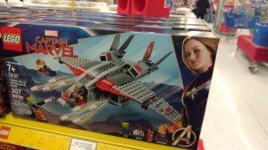 LEGO Marvel 76127 Captain Marvel 76127 Captain Marvel And The Skrull Attack 2 300x169