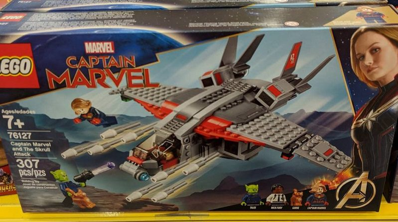 LEGO Marvel 76127 Captain Marvel 76127 Captain Marvel And The Skrull Attack Featured 800 445 799x445