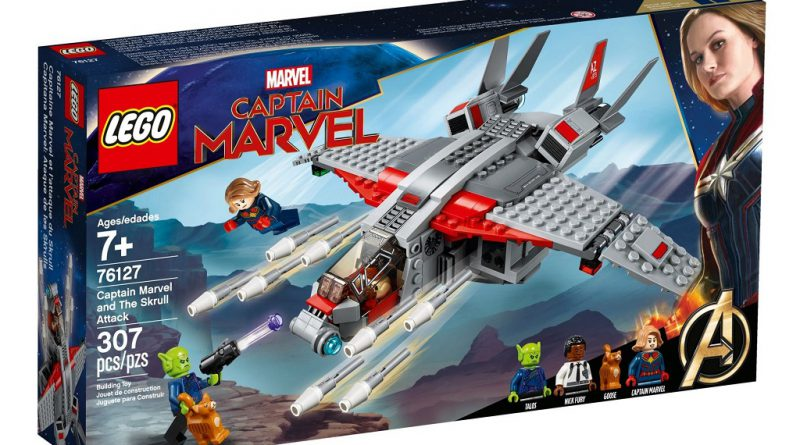 LEGO Marvel 76127 Captain Marvel Skrull Attack 1 800x445