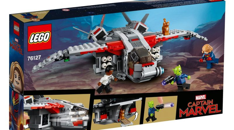 LEGO Marvel 76127 Captain Marvel Skrull Attack 2 800x445