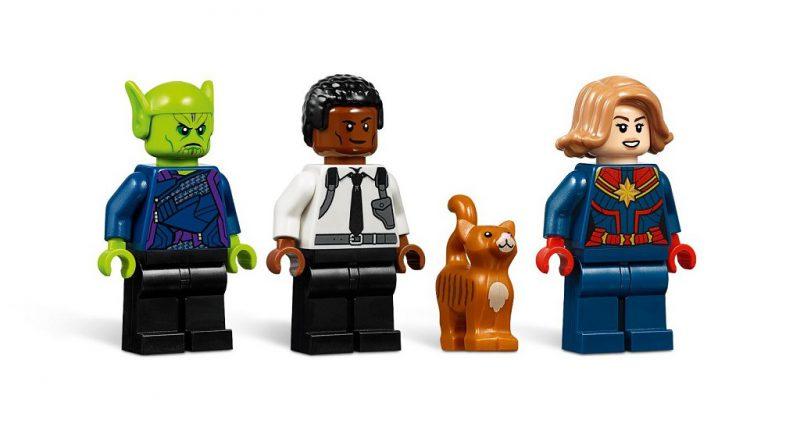 LEGO Marvel 76127 Captain Marvel Skrull Attack 4 800x445