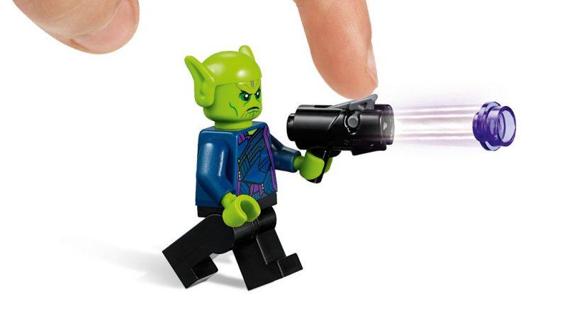 LEGO Marvel 76127 Captain Marvel Skrull Attack 5 800x445