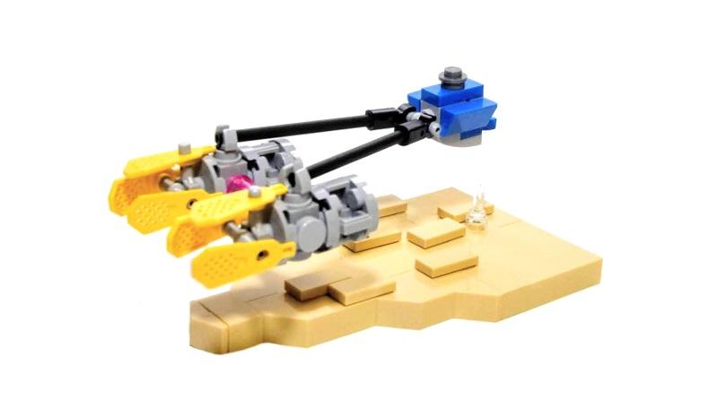 LEGO Micro Anakin Podracer featured