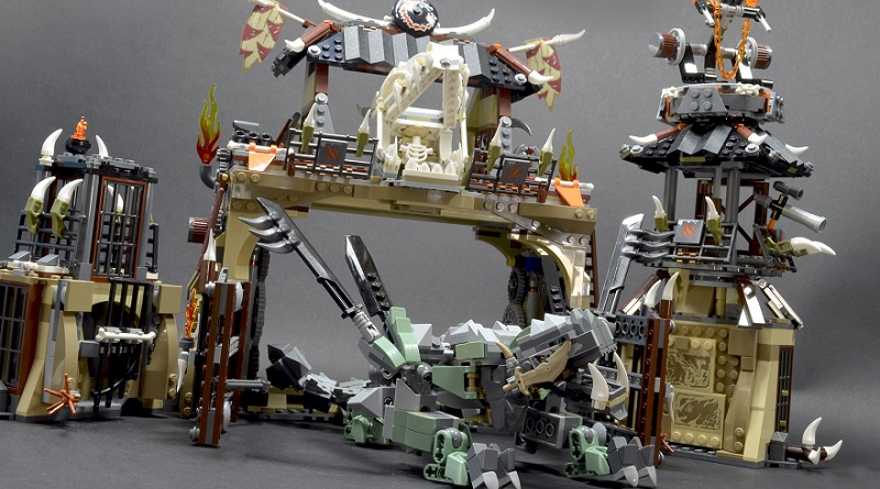 LEGO NINJAGO 70655 Dragon Pit Featured 800 445