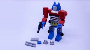 LEGO Optimus Prime Instructions 7 300x169