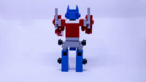 LEGO Optimus Prime Instructions 8 300x169