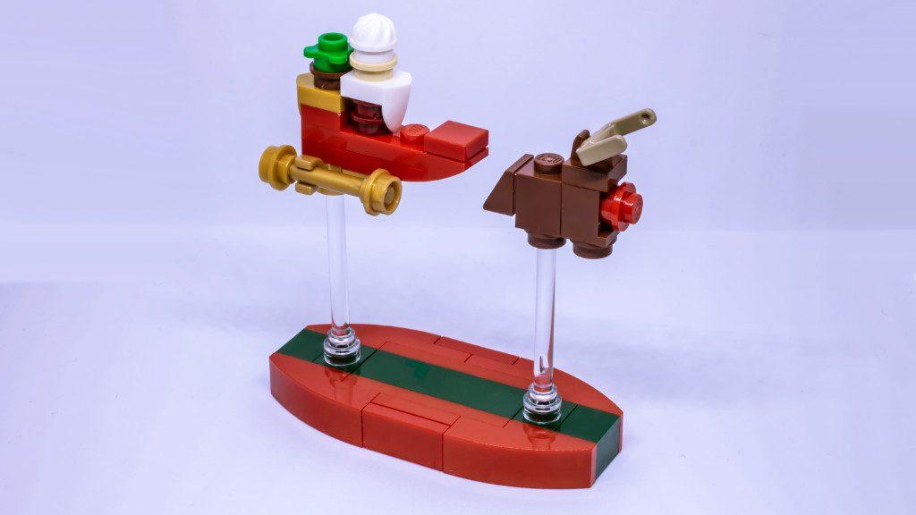LEGO Santa sleigh 1