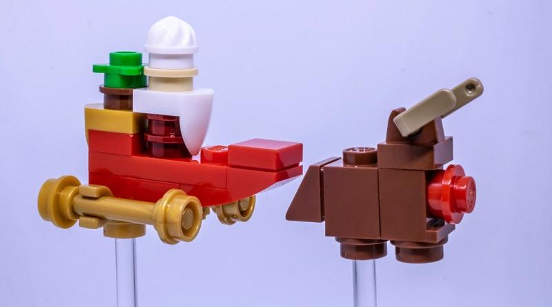 LEGO Santa Sleigh Featured 800 445