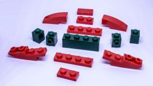 LEGO Santa sleigh instructions 1