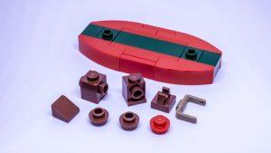 LEGO Santa sleigh instructions 2