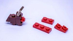 LEGO Santa sleigh instructions 3