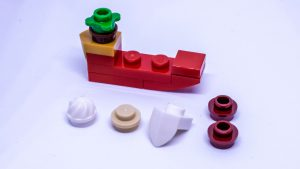 LEGO Santa sleigh instructions 5