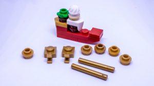 LEGO Santa sleigh instructions 6