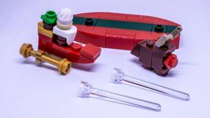 LEGO Santa sleigh instructions 7