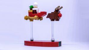 LEGO Santa sleigh instructions 8