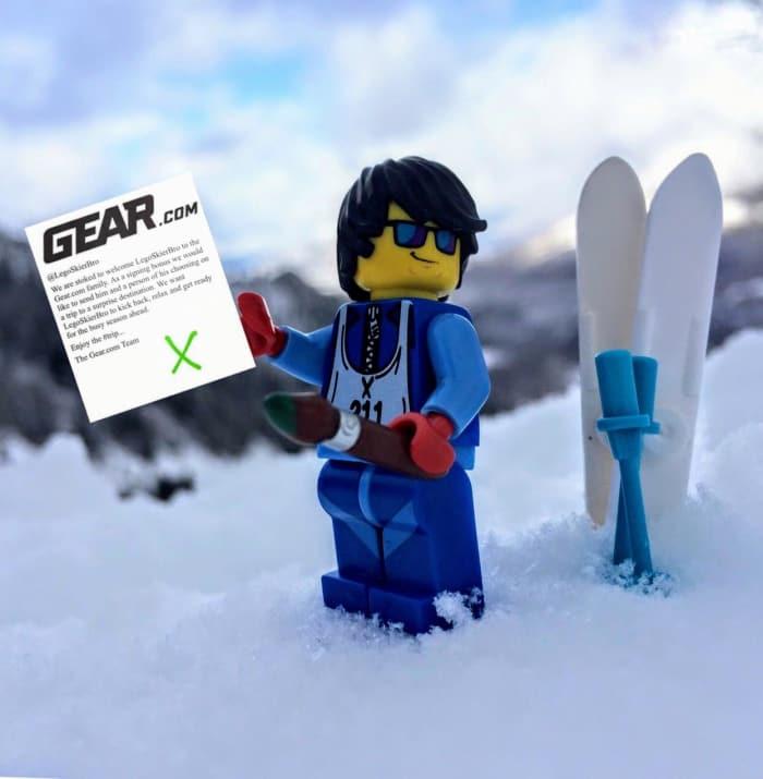 LEGO Skier Bro
