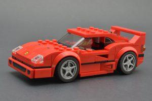 LEGO Speed Champions 75890 Ferrari F40 Competizione 1 300x199