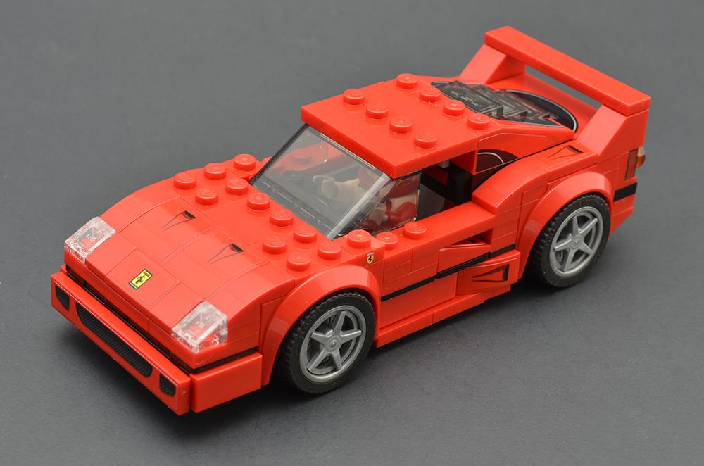 LEGO Speed Champions 75890 Ferrari F40 Competizione 4