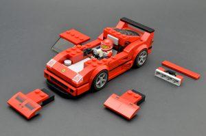 LEGO Speed Champions 75890 Ferrari F40 Competizione 8 300x199