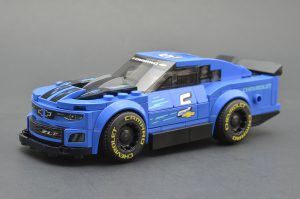 LEGO Speed Champions 75891 Chevy Camaro ZL1 Race Car Review 2 300x199