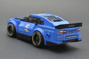 LEGO Speed Champions 75891 Chevy Camaro ZL1 Race Car Review 3 300x199