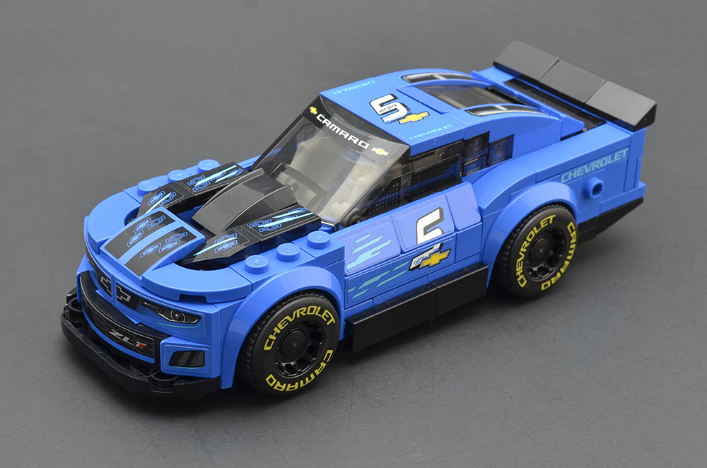 LEGO Speed Champions 75891 Chevy Camaro ZL1 Race Car review 5